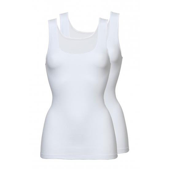 Dames witte hemdjes set van Ten Cate