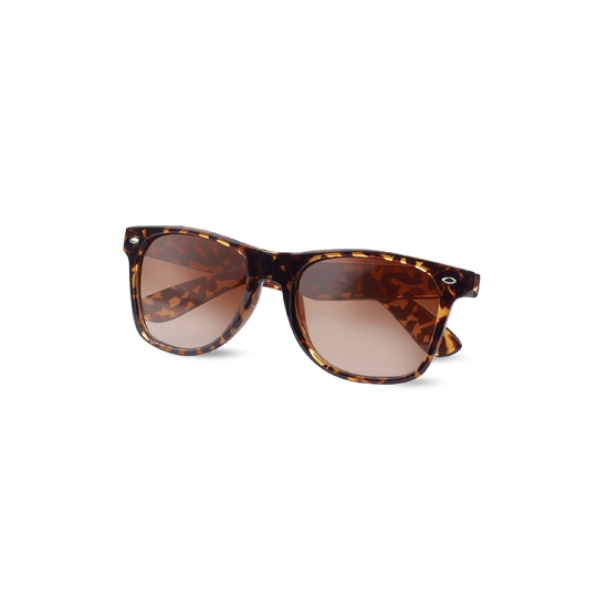 Dames zonnebril met luipaard print
