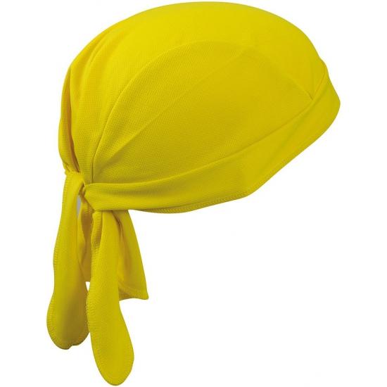 Gele sport bandana