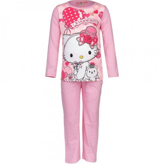 Hello Kitty pyjama licht roze