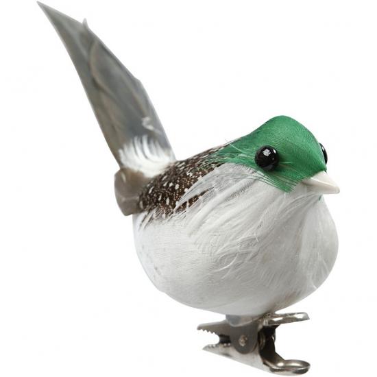 Hobby vogeltjes groen 3 stuks