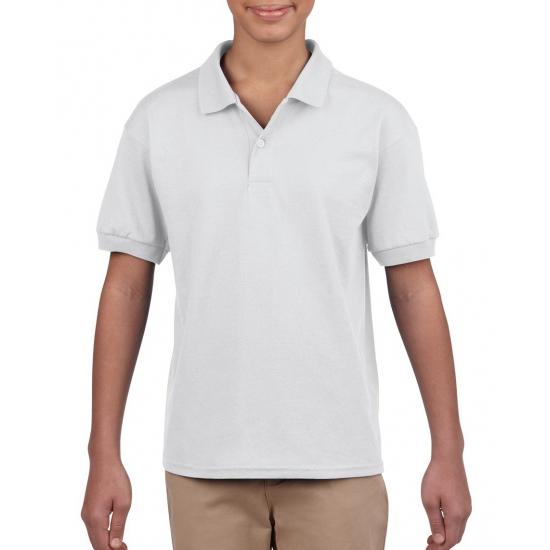 Jongenskleding poloshirt wit