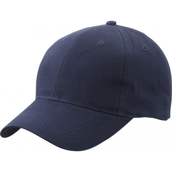 Katoenen baseball caps navy