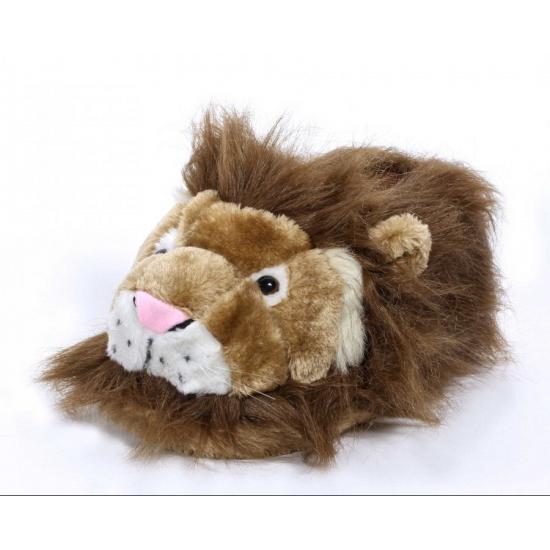 Kinder dieren pantoffels leeuw