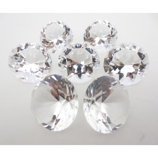 Mooie decoratie diamanten 6 cm