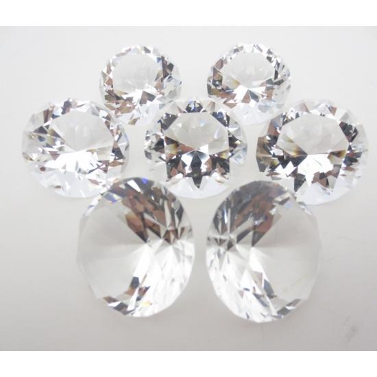 Mooie decoratie diamanten 8 cm