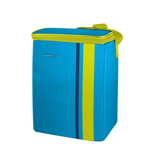 Neon blauwe koeltas 9 liter