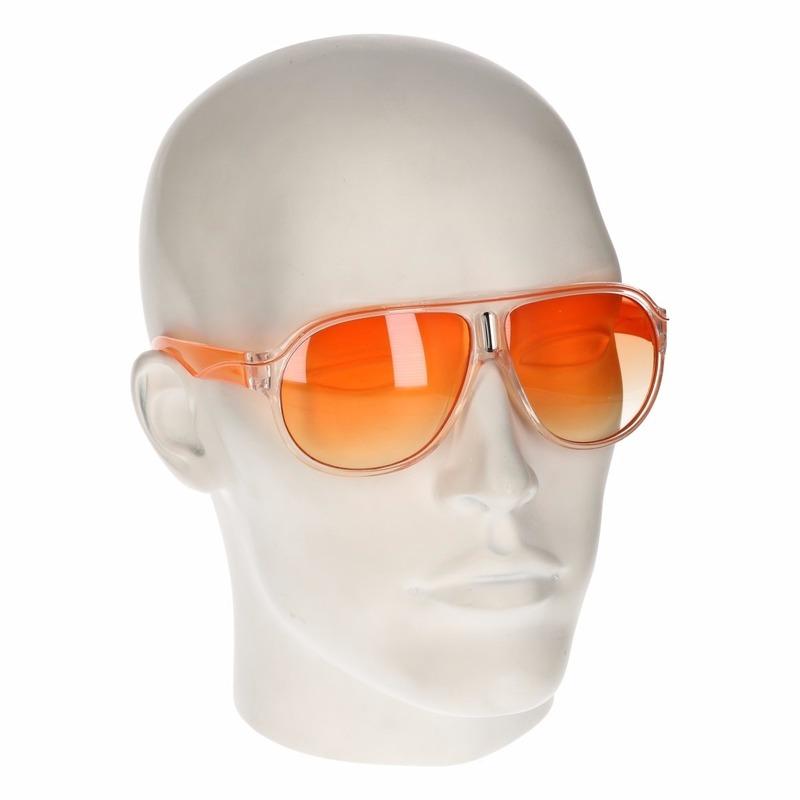 Oranje zonnebril Carrera look a like