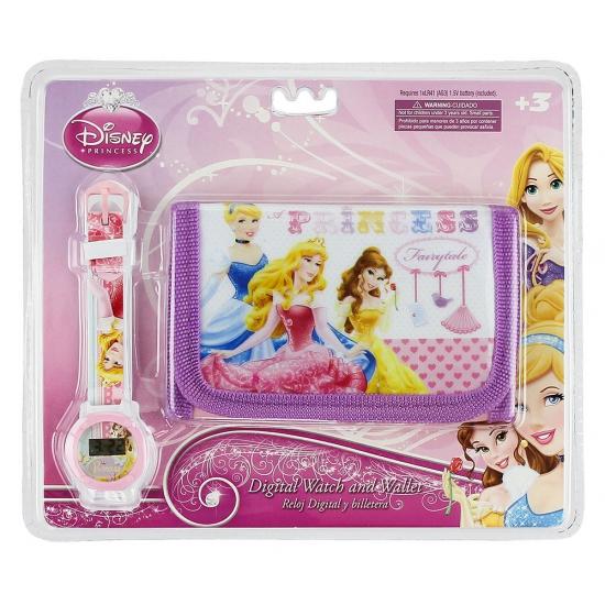 Princess portemonnee en horloge