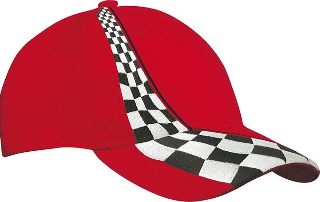 Rode Formule-1 racing baseball caps