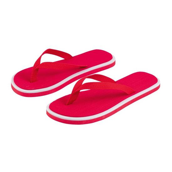 Rode heren slippers