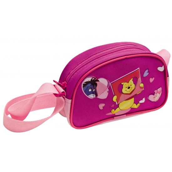 Roze Winnie de Poeh schoudertasjes