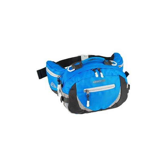 Sportieve blauwe heuptas