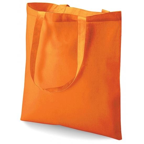 Voordelige boodschappentas oranje