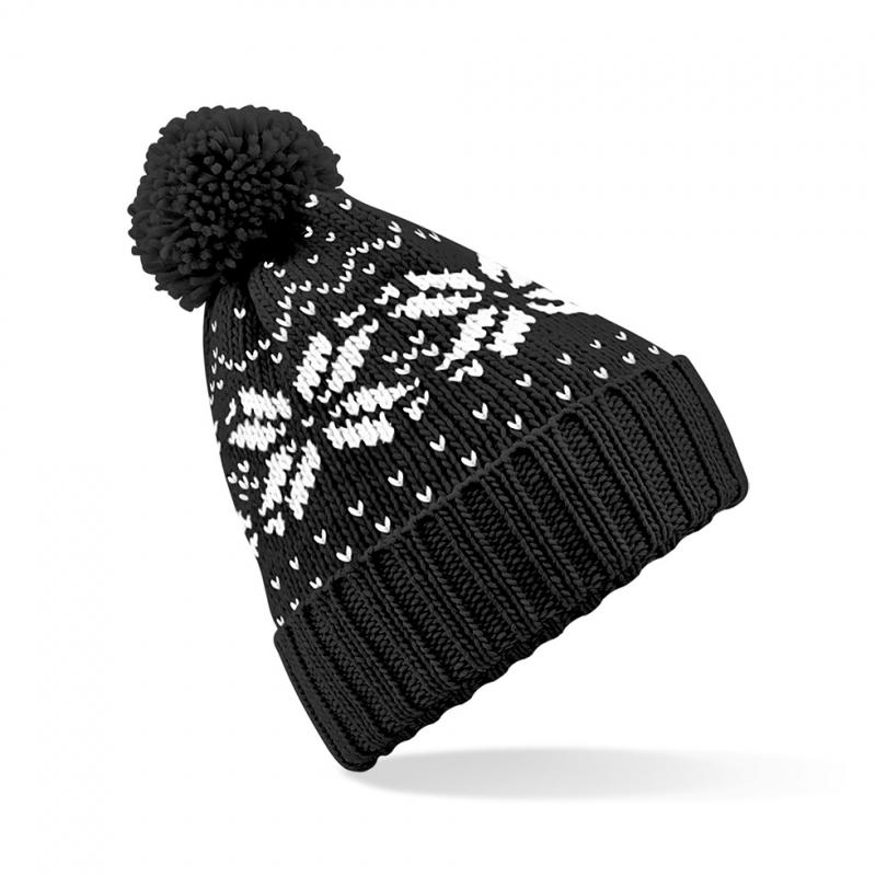 Zwarte wintermuts Snowstar Classic