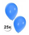 25x blauwe party ballonnen
