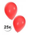 25x rode party ballonnen