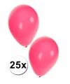 25x roze party ballonnen
