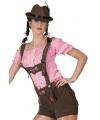 Beieren lederhose bruin voor dames