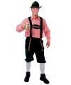 Lange groene Oktoberfest broek voor heren
