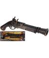 Plastic piraten geweer 50 cm