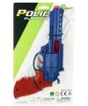 Plastic politie pistolen 23 cm