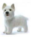 West Highland Terrier knuffels 50 cm