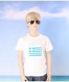 Griekse vlag t-shirts voor kinderen