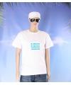 Griekse vlag t-shirts