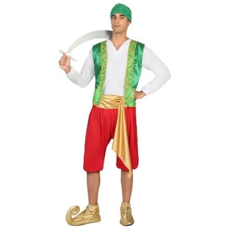 Afbeelding van 1001 nacht Arabische prins Amir verkleedpak voor heren