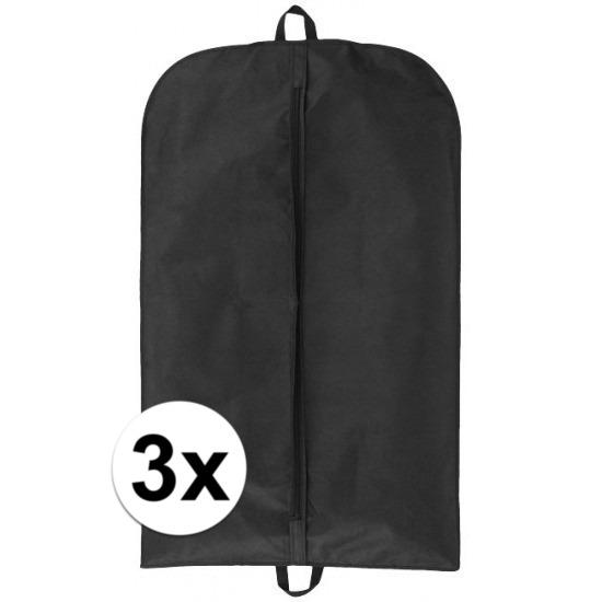 3x stuks beschermhoes voor kleding