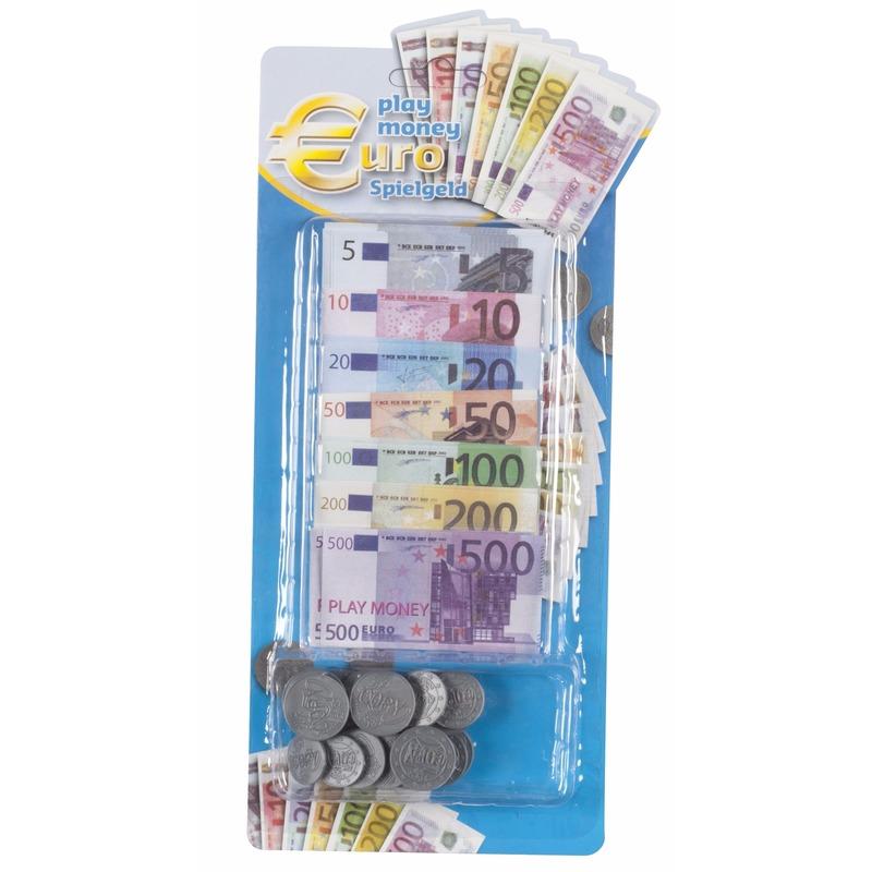 Afbeelding van 90 delige speelgeld set voor kinderen