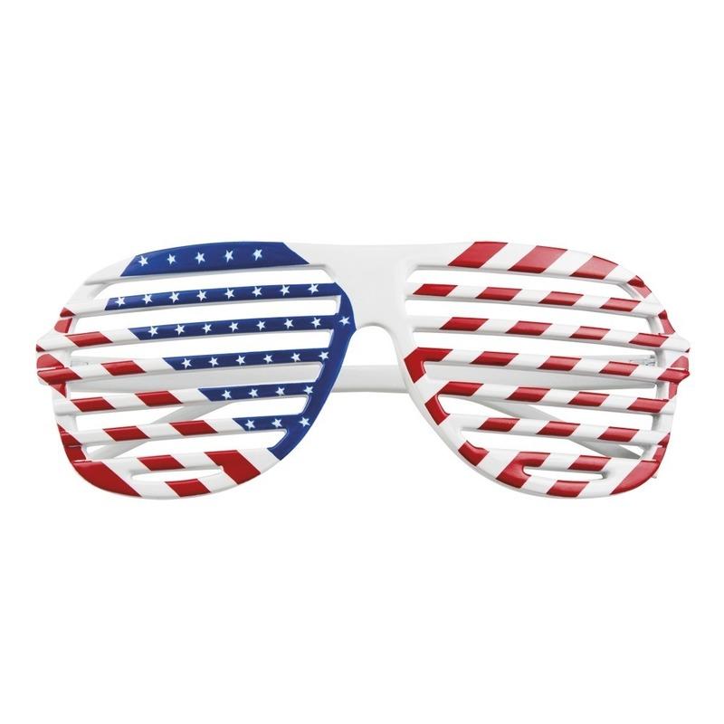 Amerikaanse verkleed bril