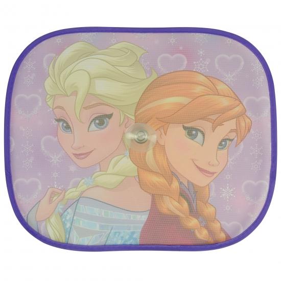 Autoraam schermen Frozen Anna en Elsa