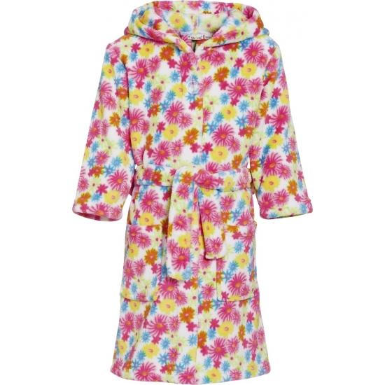 Bloemetjes badjas voor kinderen