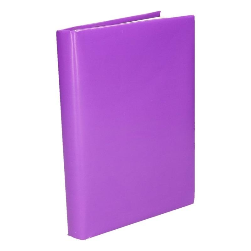 Boeken kaften rol paars papier 200 cm