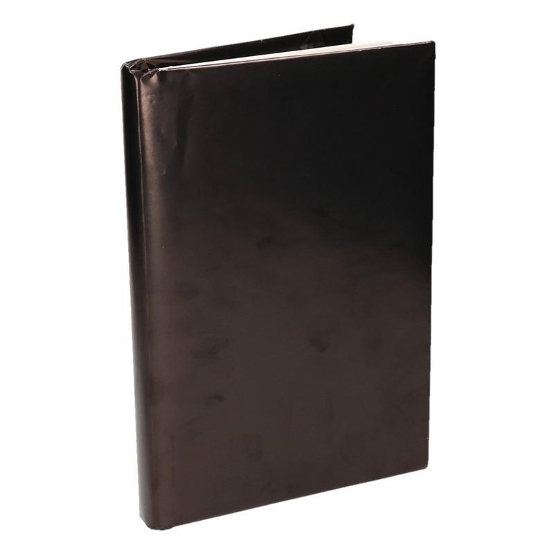 Boeken kaften rol zwart papier 200 cm