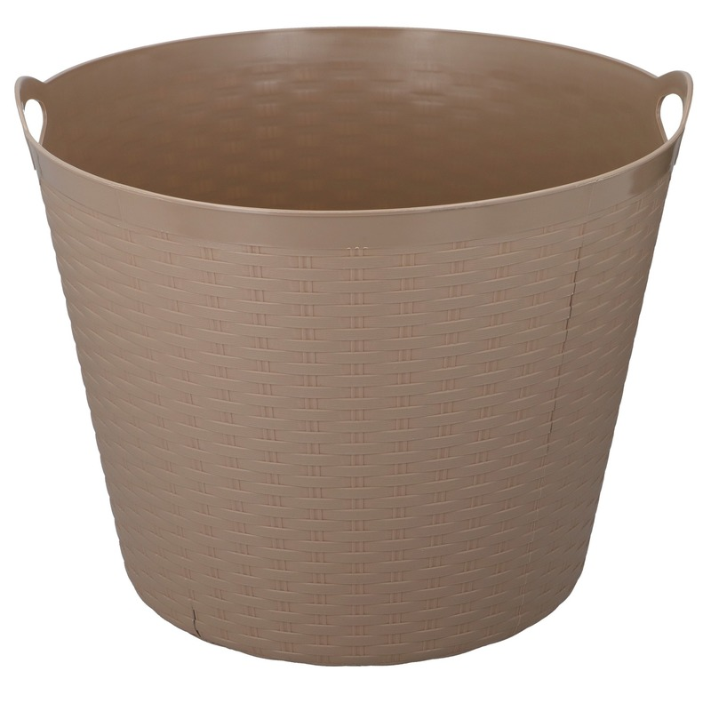 Bruine opbergmand 35 liter