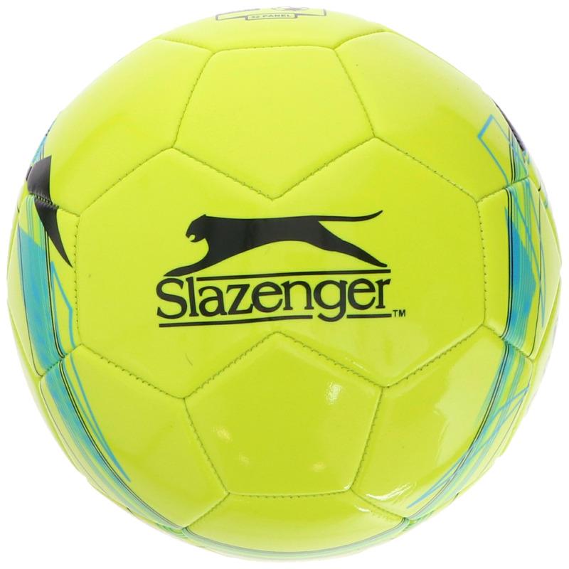 Buitenspeelgoed panna voetbal geel 21 cm-maat 5 voor kinderen-volwassenen