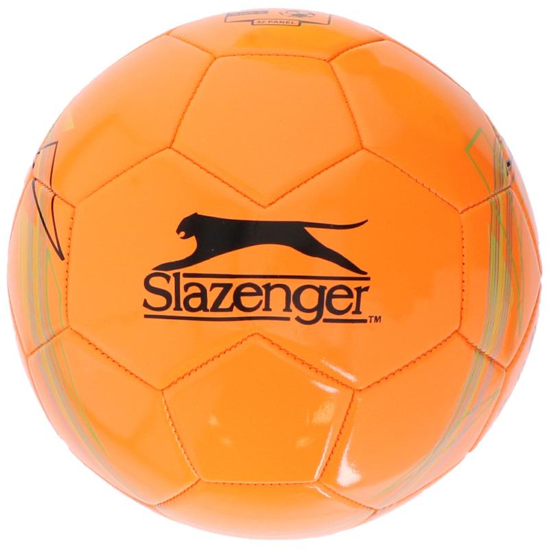 Buitenspeelgoed panna voetbal oranje 21 cm-maat 5 voor kinderen-volwassenen