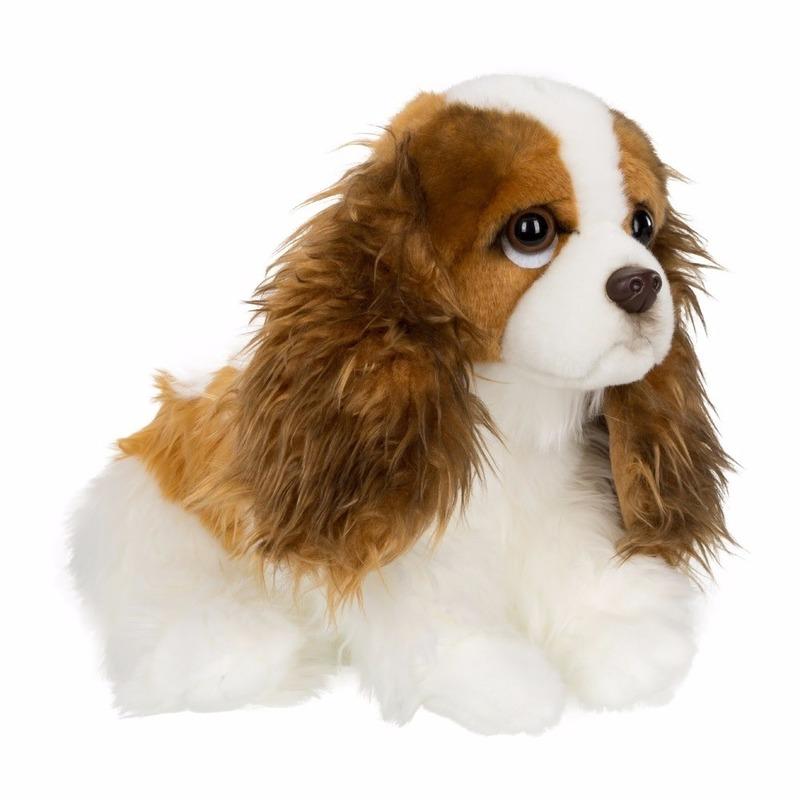 Cavalier King Charles Spaniel knuffel hondje 20 cm