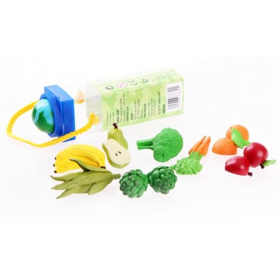 Decoratie fruit en groenten 8 stuks