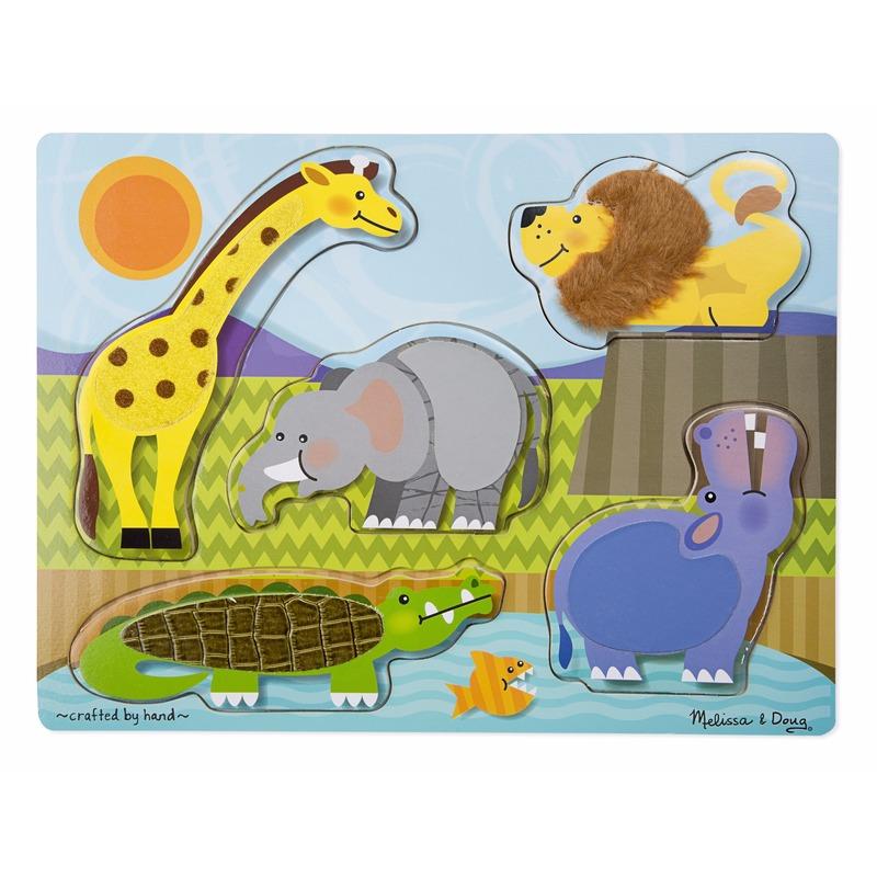 Dierentuindieren puzzels van hout