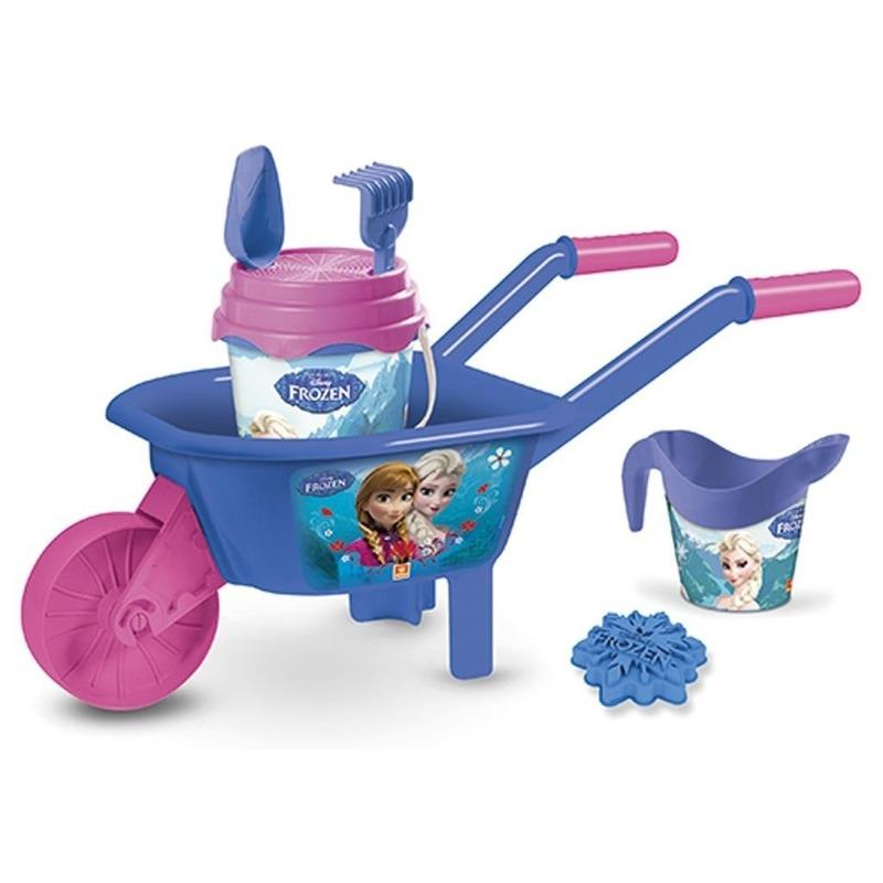 Disney Frozen speelgoed kruiwagen zandbak setje 65 cm
