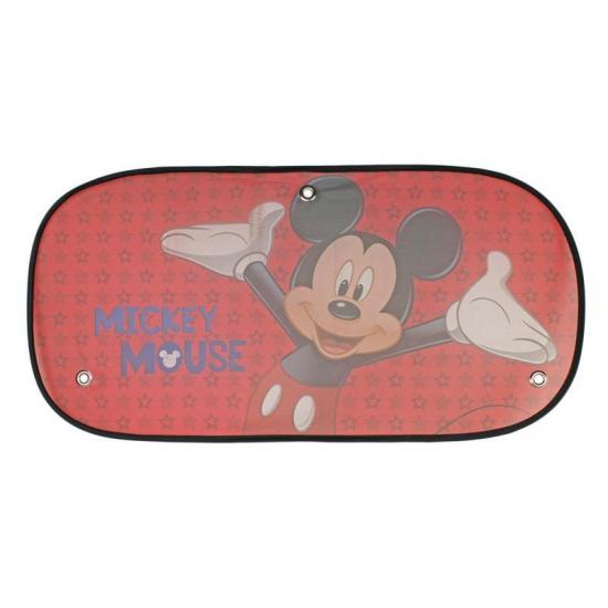 Disney Micky Mouse auto zonnescherm rood
