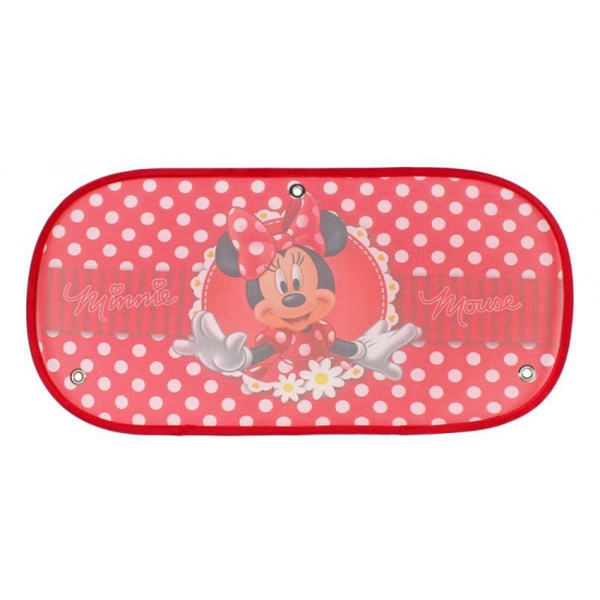 Disney Minnie Mouse auto zonnescherm rood