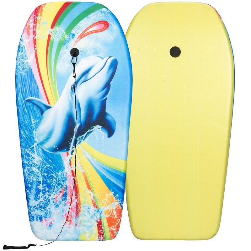 Dolfijnen speelgoed zwem bodyboard 93 cm voor jongens-meisjes-kinderen