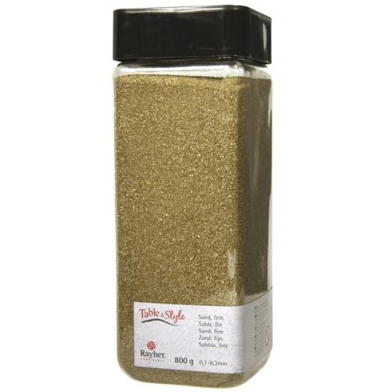 Fijne zandkorreltjes goud
