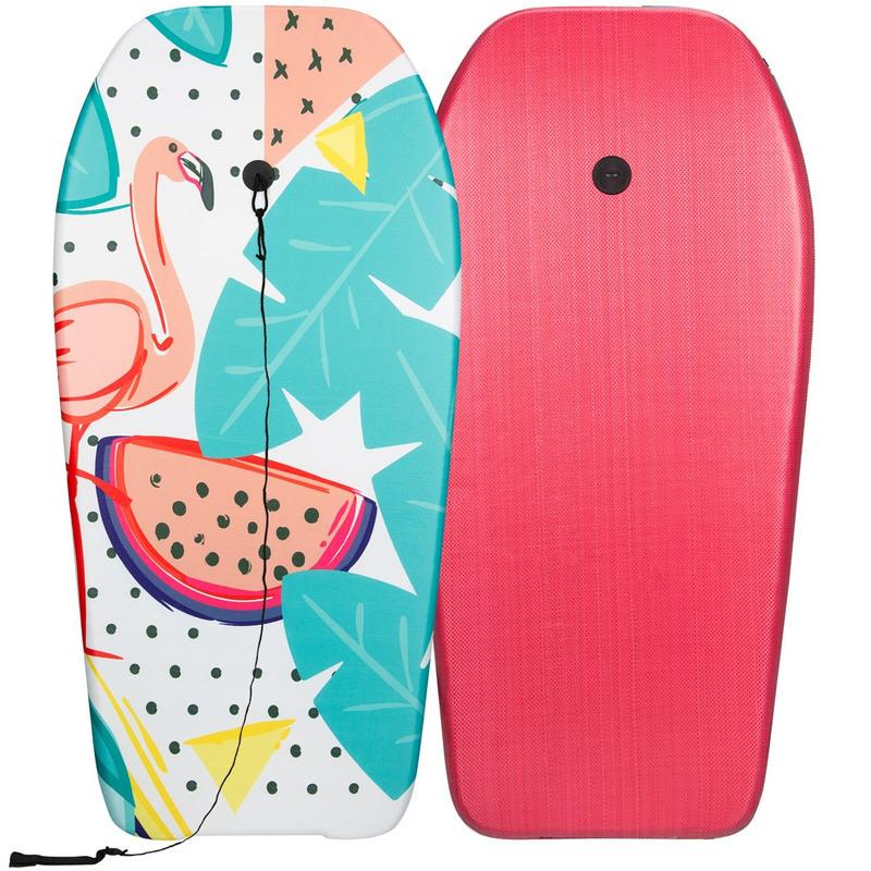 Flamingos speelgoed zwem bodyboard 93 cm voor jongens-meisjes-kinderen