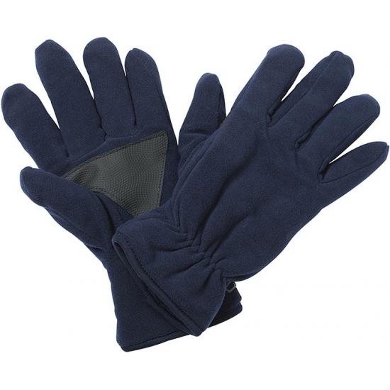 Fleece handschoenen navy van het merk Thinsulate